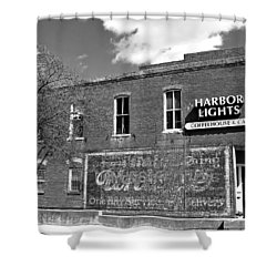 Coffeehouse  Shower Curtain by Chris Berry