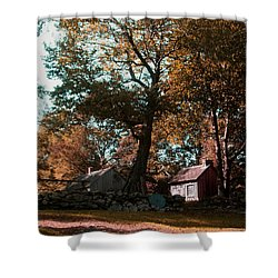 Coggeshall Farm Bristol Ri Shower Curtain by Tom Prendergast