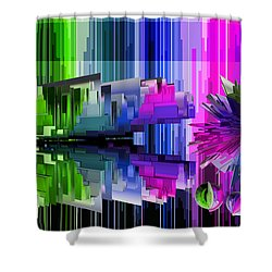 Cognitive Dissonance 2 Shower Curtain by Angelina Vick