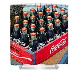 Coke Case Shower Curtain