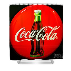Coke Top Shower Curtain