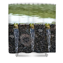 Cold And Clear Water - Featured 3 Shower Curtain by Alexander Senin