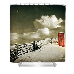 Cold Call Shower Curtain