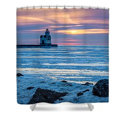 Cold Pastels Shower Curtain