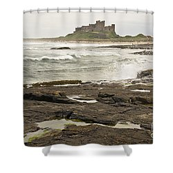Cold Waves Of Northumberland Shower Curtain