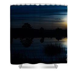 Cold Winter Morning Shower Curtain