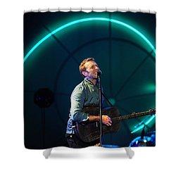 Coldplay Shower Curtain by Rafa Rivas