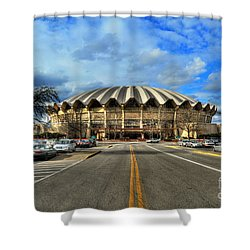 Coliseum Daylight Shower Curtain by Dan Friend