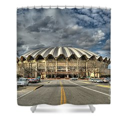 Coliseum Daylight Hdr Shower Curtain