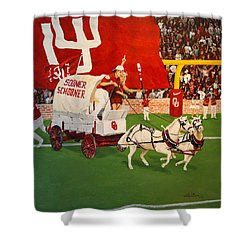 College Football In America Shower Curtain
