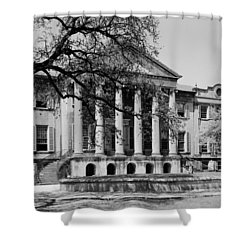 College Of Charleston Main Building 1940 Shower Curtain