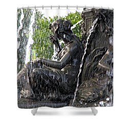 Colline Parlamentaire Building Shower Curtain
