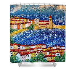 Collioure Shower Curtain