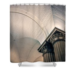 Shower Curtain featuring the photograph Columns by Rob Sellers