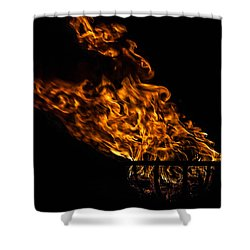 Fire Cresset Shower Curtain