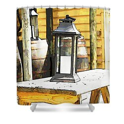 Colonial Light Shower Curtain