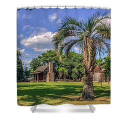 Colonial Paradise Shower Curtain