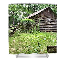 Colonial Village Shower Curtain