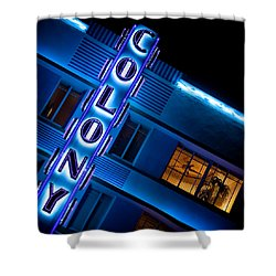 Colony Hotel 1 Shower Curtain by Dave Bowman