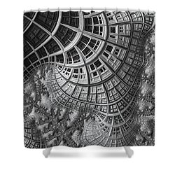 Colony II Shower Curtain by John Edwards