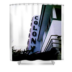 Colony Polaroid Shower Curtain