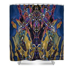 Color Abstraction Xxi Shower Curtain by David Gordon