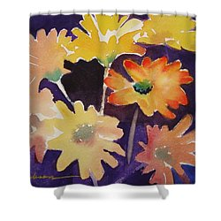 Color And Whimsy Shower Curtain by Marilyn Jacobson