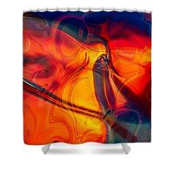 Color Conception Shower Curtain
