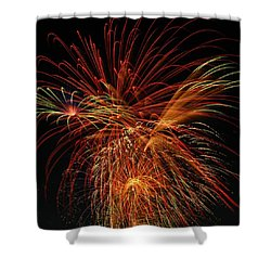 Color Design Shower Curtain by Optical Playground By MP Ray