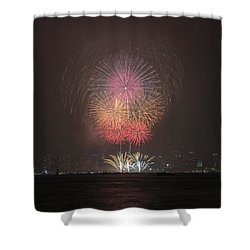 Colored Skies Shower Curtain by John Swartz