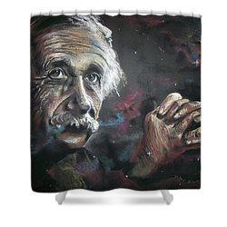 Color My Universe Shower Curtain