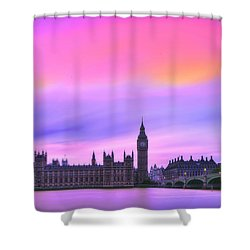 Color My World Shower Curtain by Midori Chan