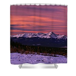 Color Of Dawn Shower Curtain by Jeremy Rhoades