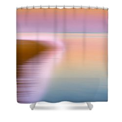 Color Of Morning Shower Curtain by Bill Wakeley