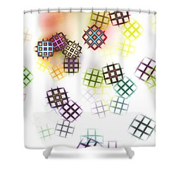 Color Of Your Window Shower Curtain by Anastasiya Malakhova