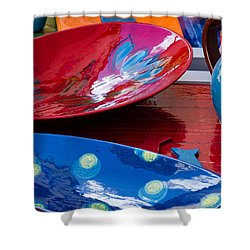 Color Your Life 4 Shower Curtain by Dany Lison