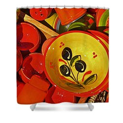 Color Your Life 5 Shower Curtain by Dany Lison