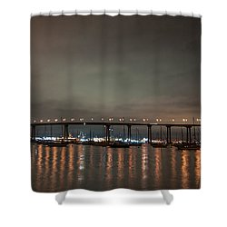 Coronado Bridge San Diego Shower Curtain