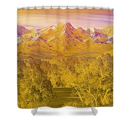 Colorado Dreaming Shower Curtain