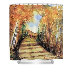 Colorado In September Shower Curtain