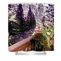 Colorado Landscape Shower Curtain by Madeline Ellis