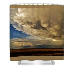 Shower Curtain featuring the photograph Colorado Supercells by Ed Sweeney