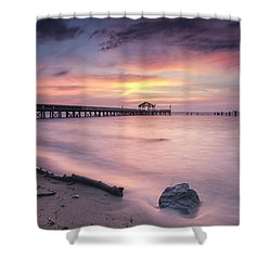 Colores Del Amanecer Shower Curtain