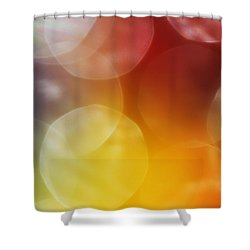 Colorful Abstract 7 Shower Curtain by Mary Bedy
