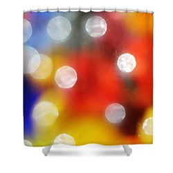 Colorful Abstract 8 Shower Curtain by Mary Bedy