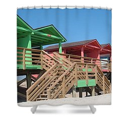 Colorful Cabanas Shower Curtain
