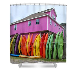 Shower Curtain featuring the photograph Colorful Emotions by Bob Sample