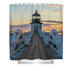 Colorful Ending Shower Curtain