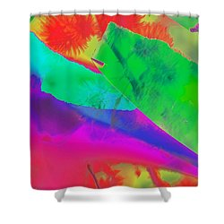 Colorful Shower Curtain by Kathleen Struckle