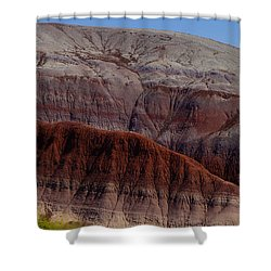 Colorful Mountain Shower Curtain